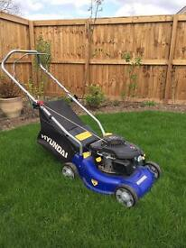 Lawnmower Hyundai 16'' rotary petrol little used.