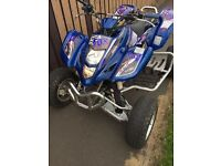 Road legal quad Suzuki LTZ 400