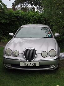 Jaguar S-Type 2.5L Auto, Petrol, Full MOT to Feb 2018, private plate, 2002