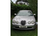 Jaguar S-Type 2.5L Auto, Petrol, Full MOT to Feb 2018, private plate, 2002