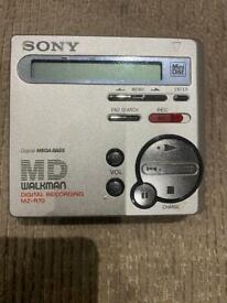 Sony MZ-R70 Recording Mini Disc Mint condition
