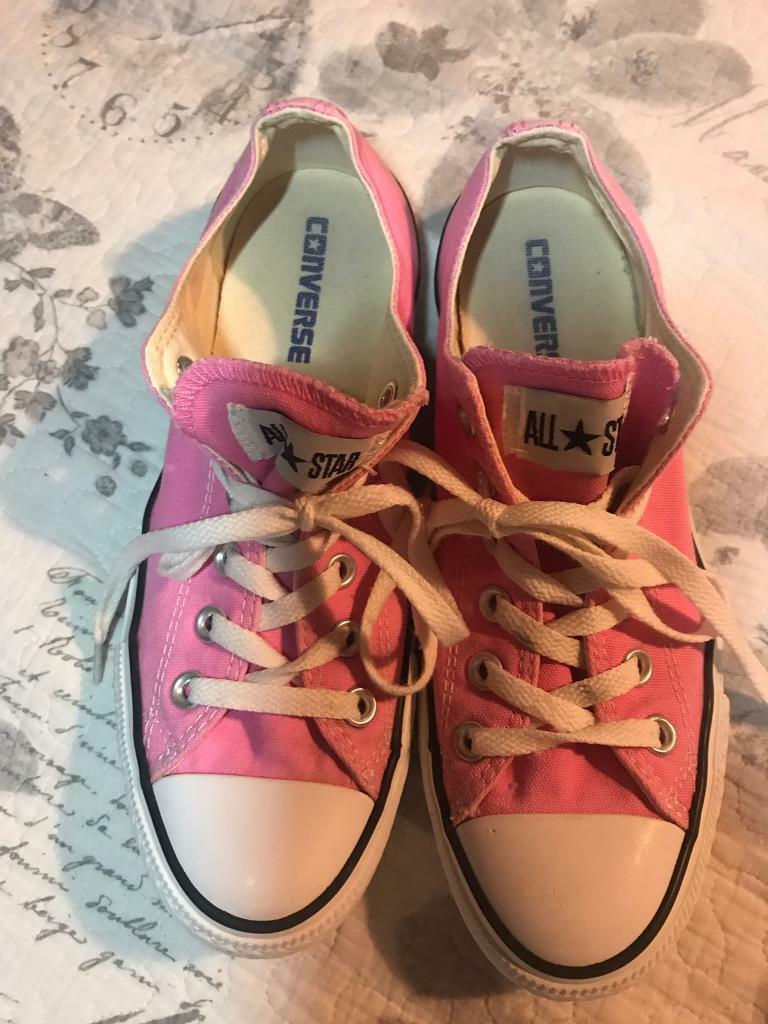 Converse Chuck Taylor All Star Trainers, Pink