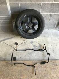 Vauxhall Zafira B Spare Wheel and Cradle