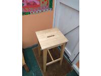 Ikea Kitchen/Bar Stool (Bosse) Ready assembled