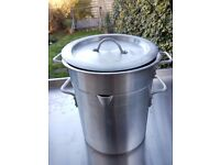 Aluminium Double Boiler 10L 28cm Diameter 30cm Height