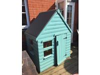 Timber Playhouses For Sale 900mm Deep x 1200mm Wide Made From Decorative Log £210.00