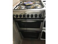50CM STAINLESS STEEL INDESIT GAS COOKER GRILL/OVEN