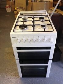 Beko glass top cooker and grill as new used about 4 times in very good condition