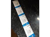 Rod Stewart Tickets X4. Durham cricket ground, Chester le street. 9 June 2017