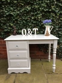 Solid pine dressing table / writing desk