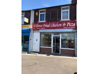 Takeaway shop for sale high taking