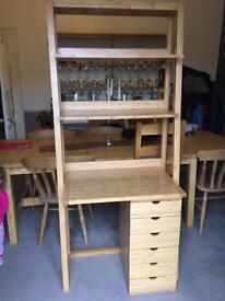 Marks and Spencer Home desk and drawer unit