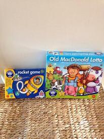 Two Orchard Toys Games