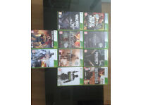 xbox 360 games. open to offers.
