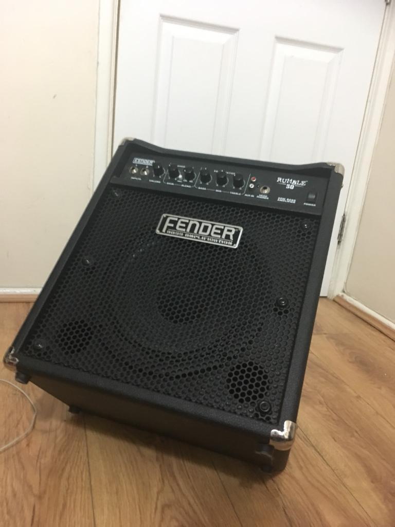 Fender Rumble 30 Bass Amp