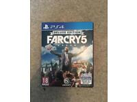 Farcry 5 Deluxe Edition for PS4