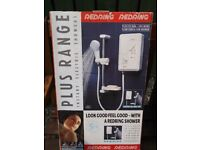redring electric shower never used mint in box