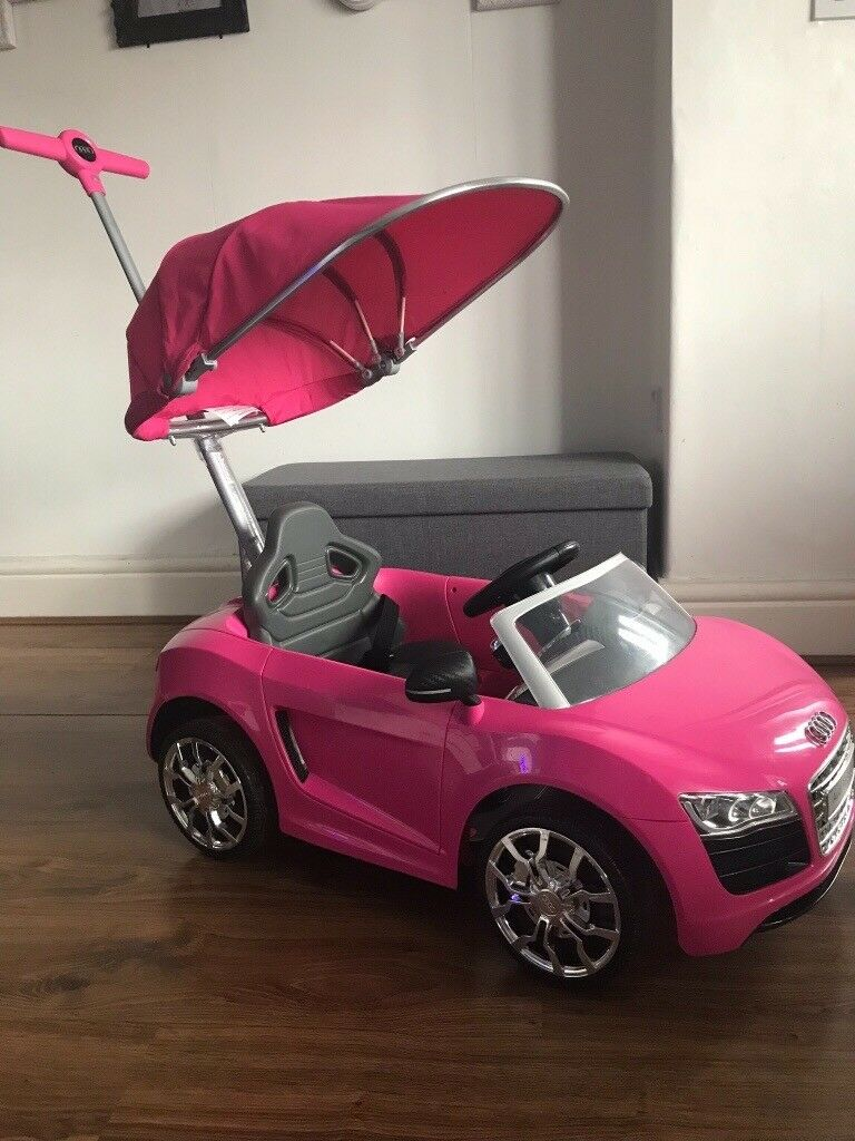 Avigo Kids Audi Push Buggy Car In Pink
