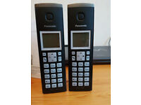 Panasonic Cordless Phones (Pair) KX-TGK220/2E As NEW