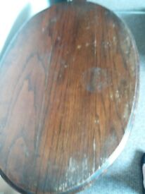 Small but tall occasional table