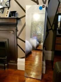 Brand New Rectangular Bevelled Box Mirror