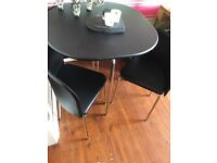 Hygena Table and Chairs