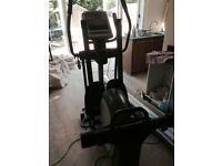 Good condition Nordictrack cross trainer, used , some scratches