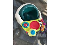 Mamas and papas snug activity seat with detachable tray