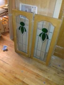 NEW Stained Glass Cupboard Doors (READ DESCRIPTION)