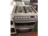 60CM SILVER CANNON DUEL FUEL GAS COOKER