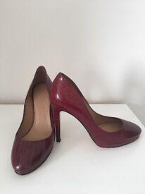 Next Ladies Dark Red Heels
