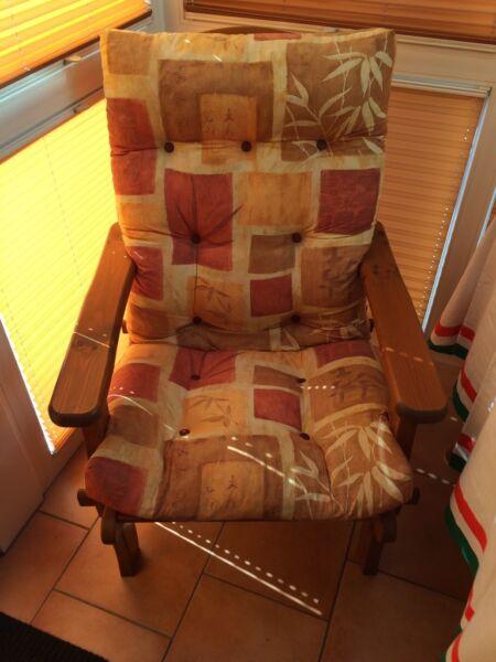 hochwertiges gartenm belset aus holz in baden w rttemberg. Black Bedroom Furniture Sets. Home Design Ideas