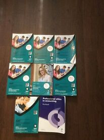 AAT Level 4 and 3 text books