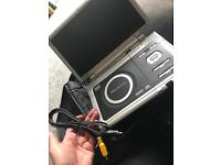 Portable DVD player with carry case and ac adapter