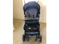 ACCEPT OFFERS Mothercare Trenton Deluxe Pushchair with cosytoes