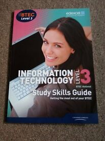 BTEC level 3 Information technology /study skills guide/never used