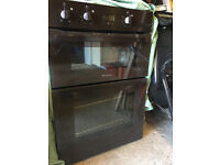 Hotpoint Fan assisted built in Double Oven with grill