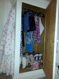 Charming kids wardrobe
