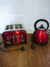 Morphy Richards Toaster and Kettle Set