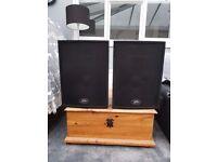 Peavey Speakers 600watt very good condition