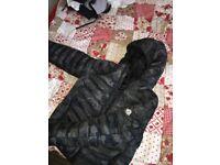 Moncler black/camo jacket/coat