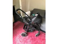 Graco Evo Pram - fully equipped with car seat, carrycot...the works