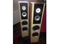 speakers (floor standing) TDL studio 10