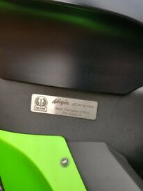 ZX-10R WORLD CHAMPIONS EDITION ONE OF 25 IN THE WORLD **TOM SYKES REPLICA**
