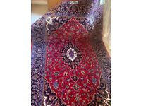 PERSAIN RUG CARPET WOOL ORIENTAL Hand Made Kashan