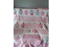 Girls single bedding set