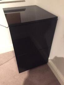 Dwell Black Office Cabinet