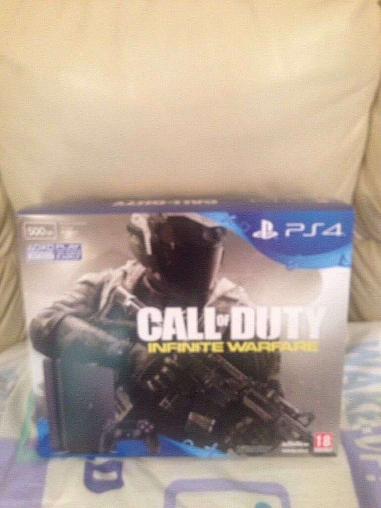 Brand new ps4 console with game sealed never opened