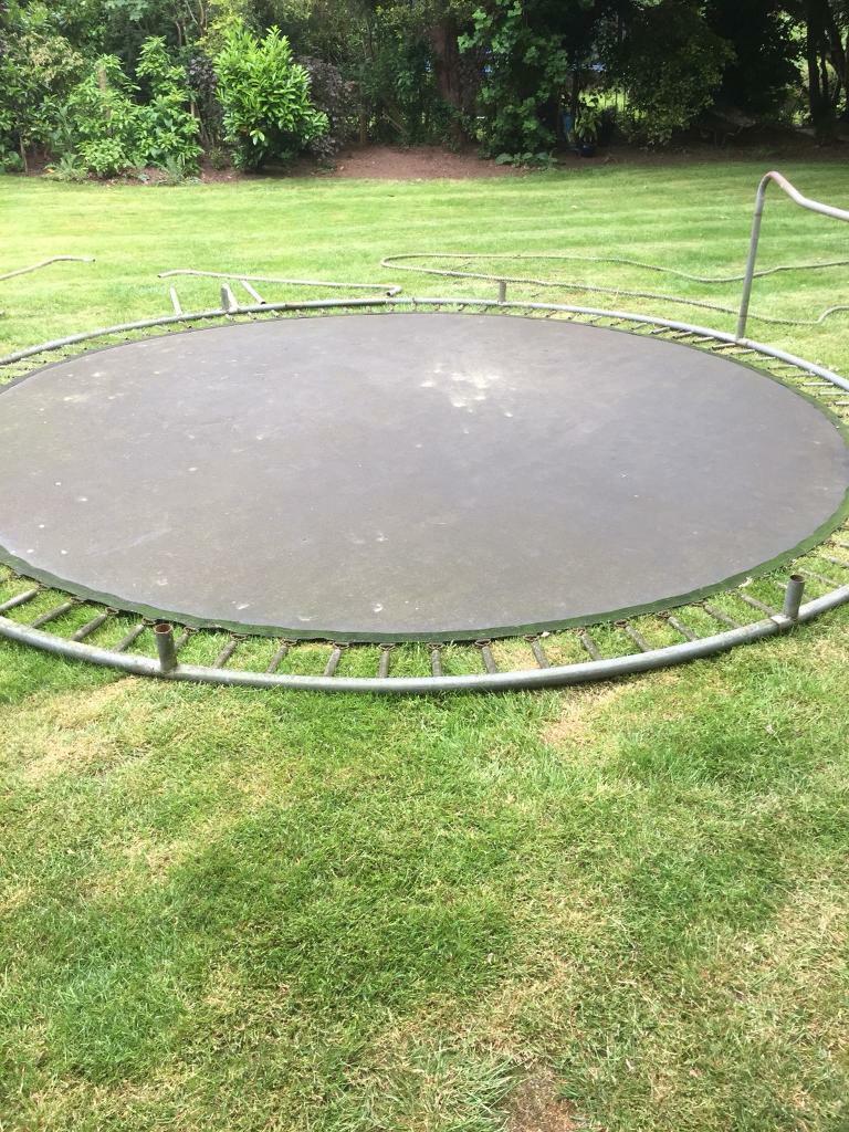 14 ft trampoline | in Stoke-on-Trent, Staffordshire | Gumtree