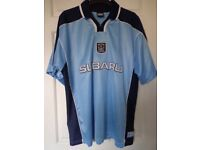 """1999/2000 21 st CENTURY COVENTRY CITY F C HOME SHIRT SIZE 46/48"""" AUTHENTIC CCFC GARMENT"""